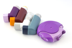 Different types of inhalers and asthma treatments